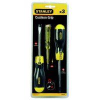 Набор отверток STANLEY 0-65-012 CushionGrip и тестера напряжения